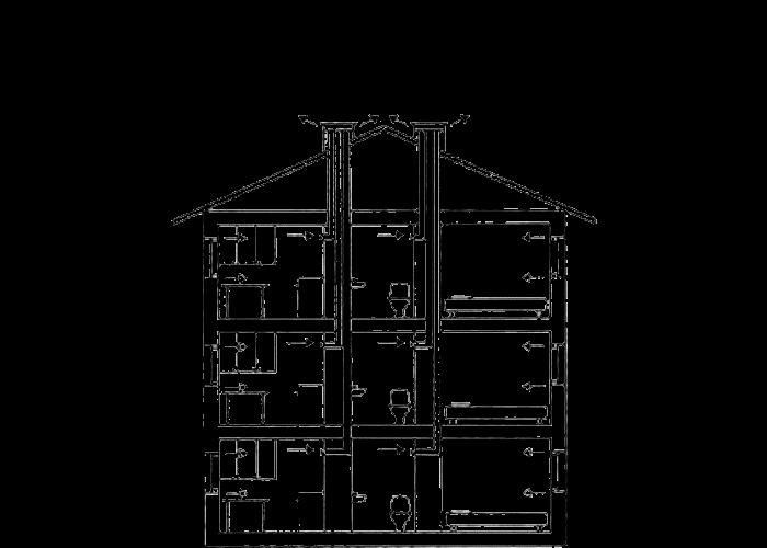 Схема вентиляции в хрущевке