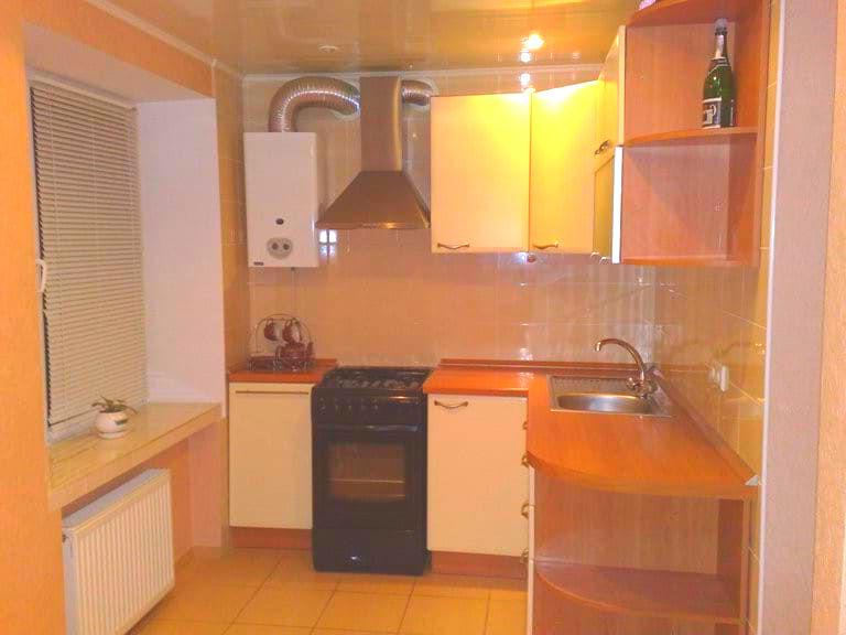 Вентиляция на кухне с газовой колонкой